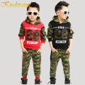 Kindstraum Boys Clothing Sets 2pcs Camouflage Hoodies and Sweatshirts Casual Pants Children Clothes Boys Set Fashion Sport,MC390