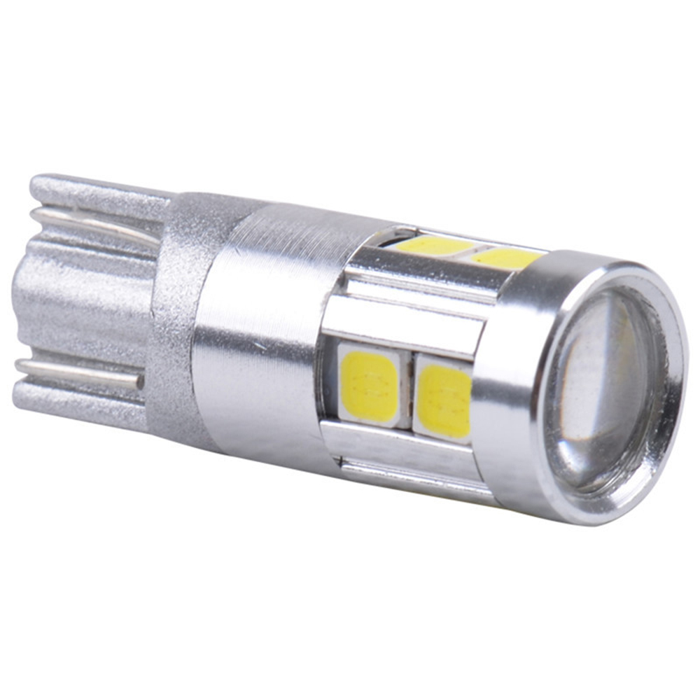 Yushuangyi 100X T10 3030 9SMD 9 LED Canbus Error Free Nonpolarity 194 168 3030 Car Wedge Light Marker Lamp Reverse Bulb white 4x canbus error free t10 194 168 w5w 5050 led 6 smd white side wedge light bulb