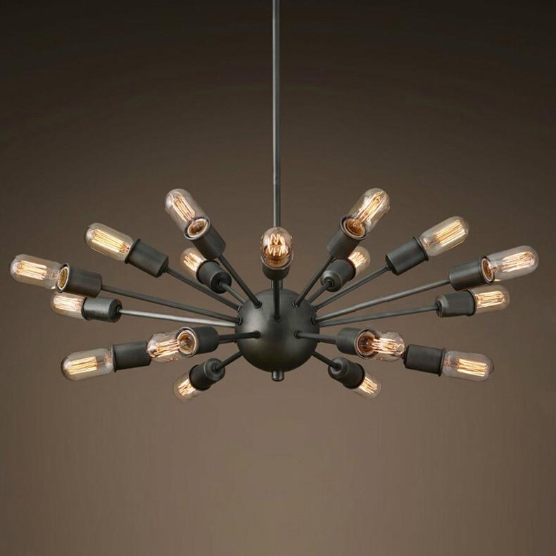 lighting fixture design. 18 lights industrial style pendant lamp satellite sputnik light fixture for residential lighting fixtures designin from design l