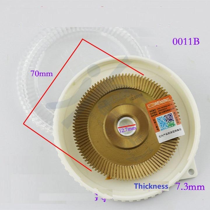 Milling Cutter 0011B Carbide Cutter 7 3 100T For WENXING Portable 201C 201D 100E1 100F 100G