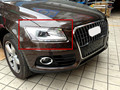 For Audi Q5 2008-2015 Quality ABS Chrome Front Head light Lamp Cover Trim 2pcs Glossy New Arrival !!