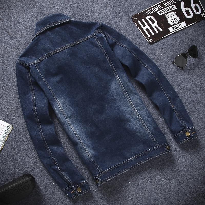 Men Manches Manteaux Printemps Moulant Automne Mâle Longues Jeans Tops Vestes Denim Masculino Jean Coats Hommes Jaquetas qnq6w01Fx8