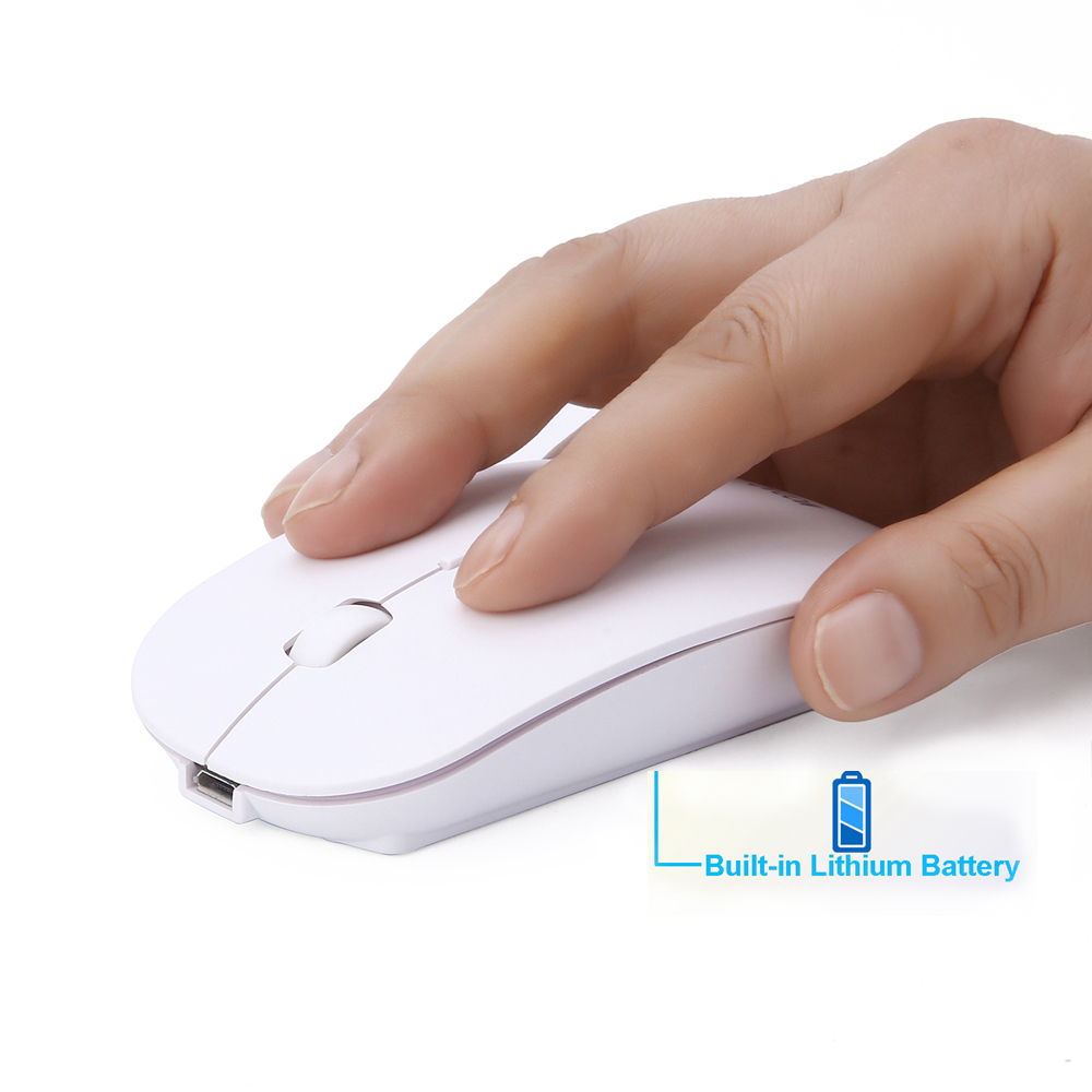 Super Hot Rechargeable Mouse Ultra thin Mouse Quiet Mouse DPI Mini Mice For PC MAC Laptop For Business Office Home use