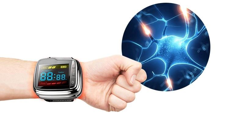 Lastek Latest Invention Blood Glucose Blood Pressure Reducing Laser Therapy Watch blood pressure laser therapy watch cardiovascular therapeutic apparatus laser watch laser treatment