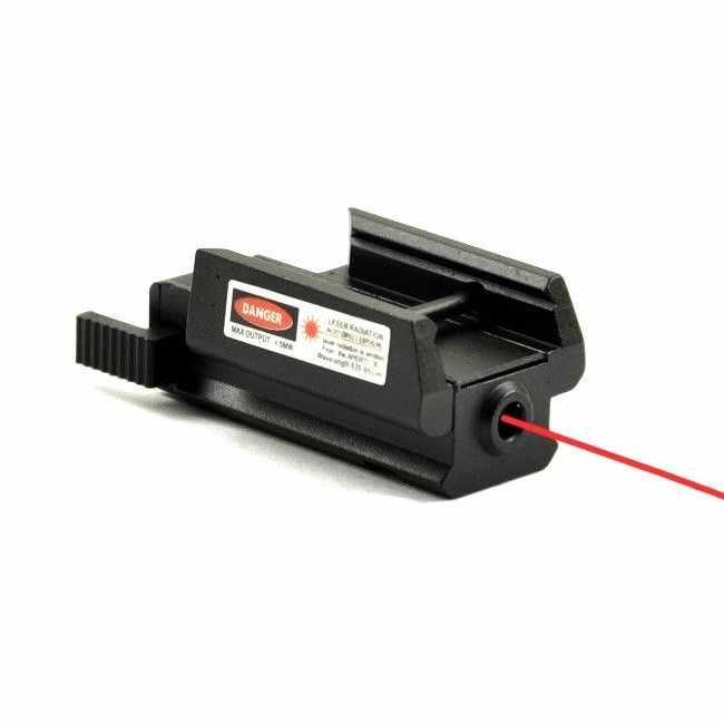 Hot Tactische Red Dot Laser Sight Picatinny 20mm Rail Laser Voor Pistool Glock 17 19 20 21 22 23 30 31 32