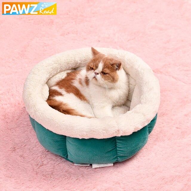 Fornitore Pet Cane Gatto Canile Pet Forma Rotonda Letto Morbido E Caldo Cucciolo