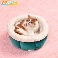Pet Fournisseur Chien Chat Chenil Pet Forme Ronde Lit Chaud Doux chaton Chiot Grotte Maison Loisirs Pierre Motif Pour Pet 4 Couleurs lit