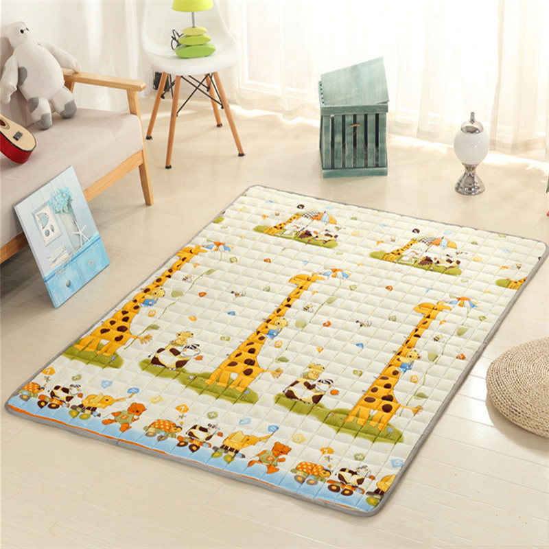 Infant Shining 200X180CM Baby Play Mats 2.5CM Thickening Carpet Anti-skid Yoga Living Room Picnic Rugs Machine Washable Blanket diaidi modern oriental area rug rectangle rug carpet washable soft rugs living room rug carpets for living room rugs and carpets for home living room kitchen rugs