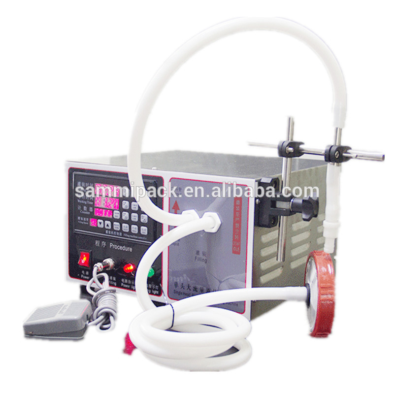 Factory price water filling machine, liquid filler GFK-170Factory price water filling machine, liquid filler GFK-170