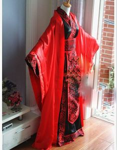 Image 4 - Hanfu de Boda China tradicional Universal para novia y novio, traje de boda para parejas, conjunto de Hanfu, cos Xie Lian