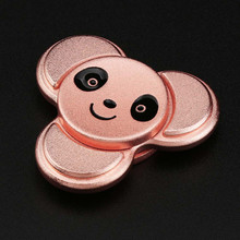 2017 New Fidget Toy Panda Cute Hand Spinner Metal Finger Stress Spinner Fidget Copper Ball Desk Focus Toy EDC For Kids/Adults