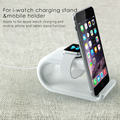 Original Haptime I6 mobile phone stand & charging dock for smart watch,Smart docking station & desk holder for iPad/smart phones