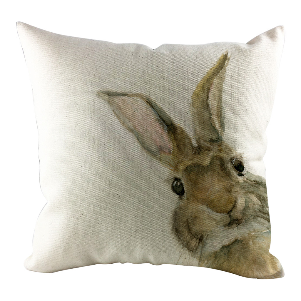 Home Textile Home & Garden Ishowtienda 2019 Easter Sofa Bed Home Decoration Festival Pillow Case Cushion Easter Bunny Rabbit Easter Egg Printed Cover