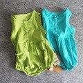 Ins 2016 verão sem mangas criança romper impressão corpo terno de algodão meninos Bebê Macacão infantil Roupas de menina recém-nascidos macacão de Bebê menino