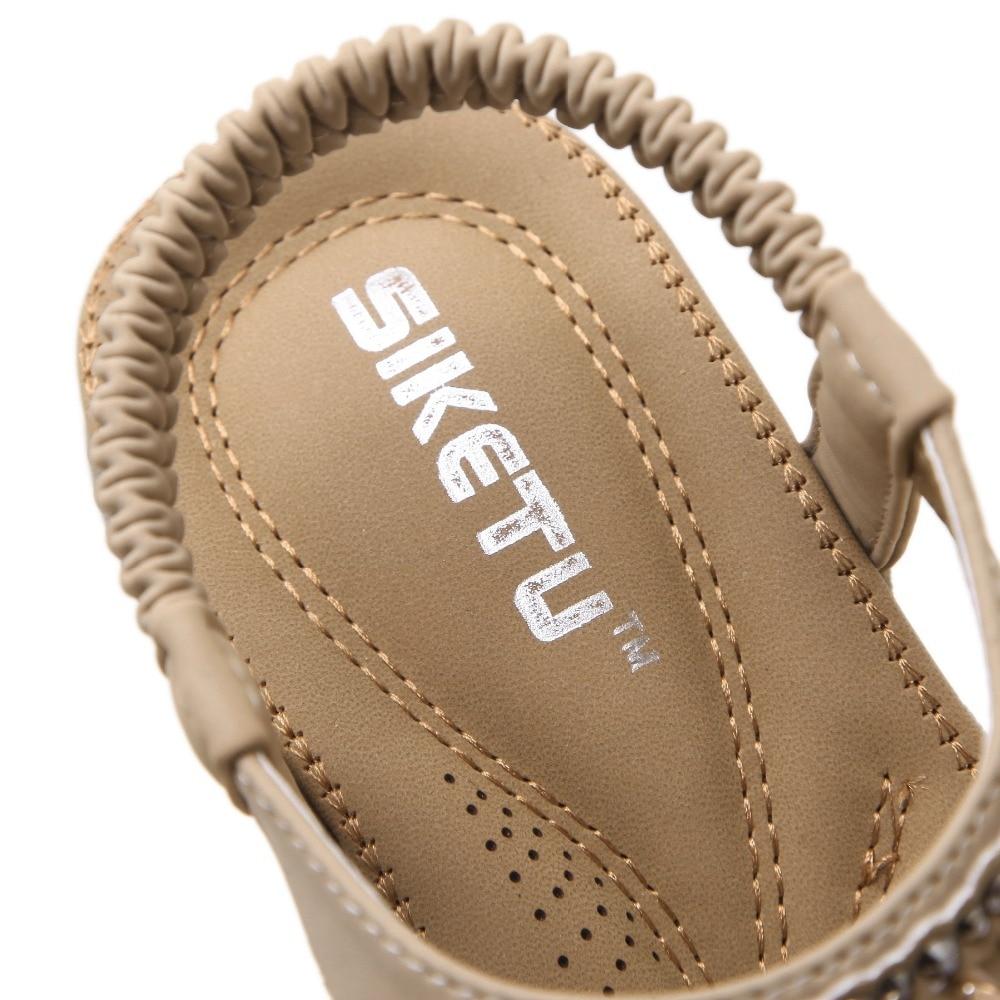 Plana Nueva Verano Playa Sandalias Moda Zapatos 35 41 2017 Mujeres Marca Siketu Con Rhinestone Ocio xwBnqI0SZ4