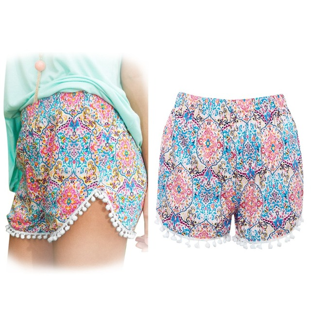 Casual Flower Summer Shorts