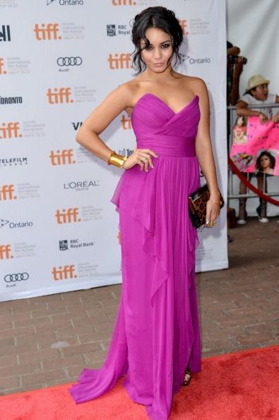 Vanessa hudgens Celebrity Boutique Kleider vestido longo de chiffon ...