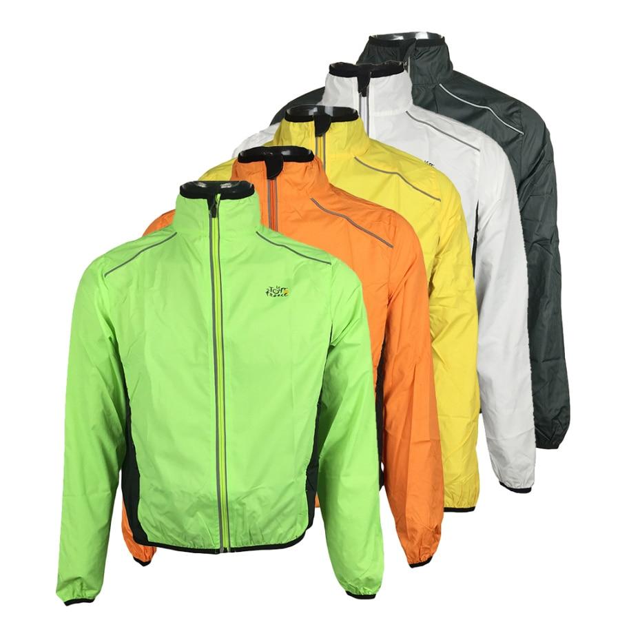 Prix pour Ultra-léger Tour De France Vélo Veste Vélo Coupe-Vent Imperméable Route Piste VTT Aero Vélo Vent Manteau Hommes Vêtements à Séchage rapide