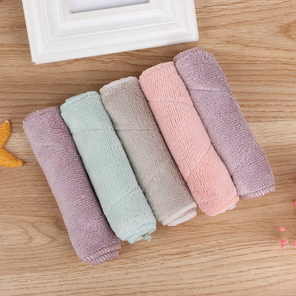 2018NEW Cleaning Towel Super Absorbent Microfiber Kitchen Dish Clean Cloths High-efficiency Tableware Household Cleaning Towel