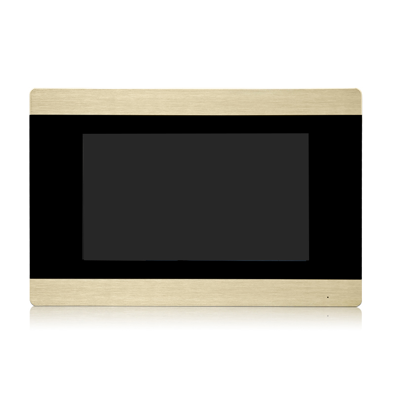 Livraison Gratuite NOUVEAU 1.0MP 720 P AHD HD TCP/IP SIP 7 Écran tactile Vidéo Interphone POUR notre SIP unité extérieure seulement