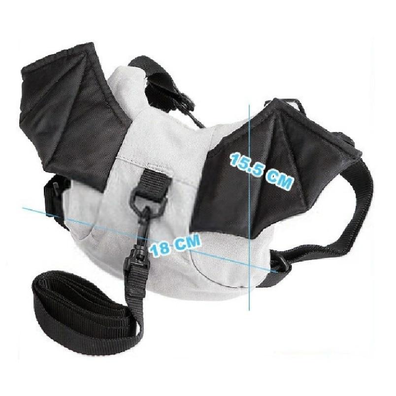 Bat Baby Harness Children Backpack Boys School Bags Ladybug Newborn Walking Safety Kids Backpacks Reins Satchel Rucksacks