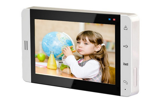 SMTVDP TFT LCD Color 7 Video Door Phone Doorbell Intercom Home Security Video System Monitor Acrylic Panel w/t TF Card slot