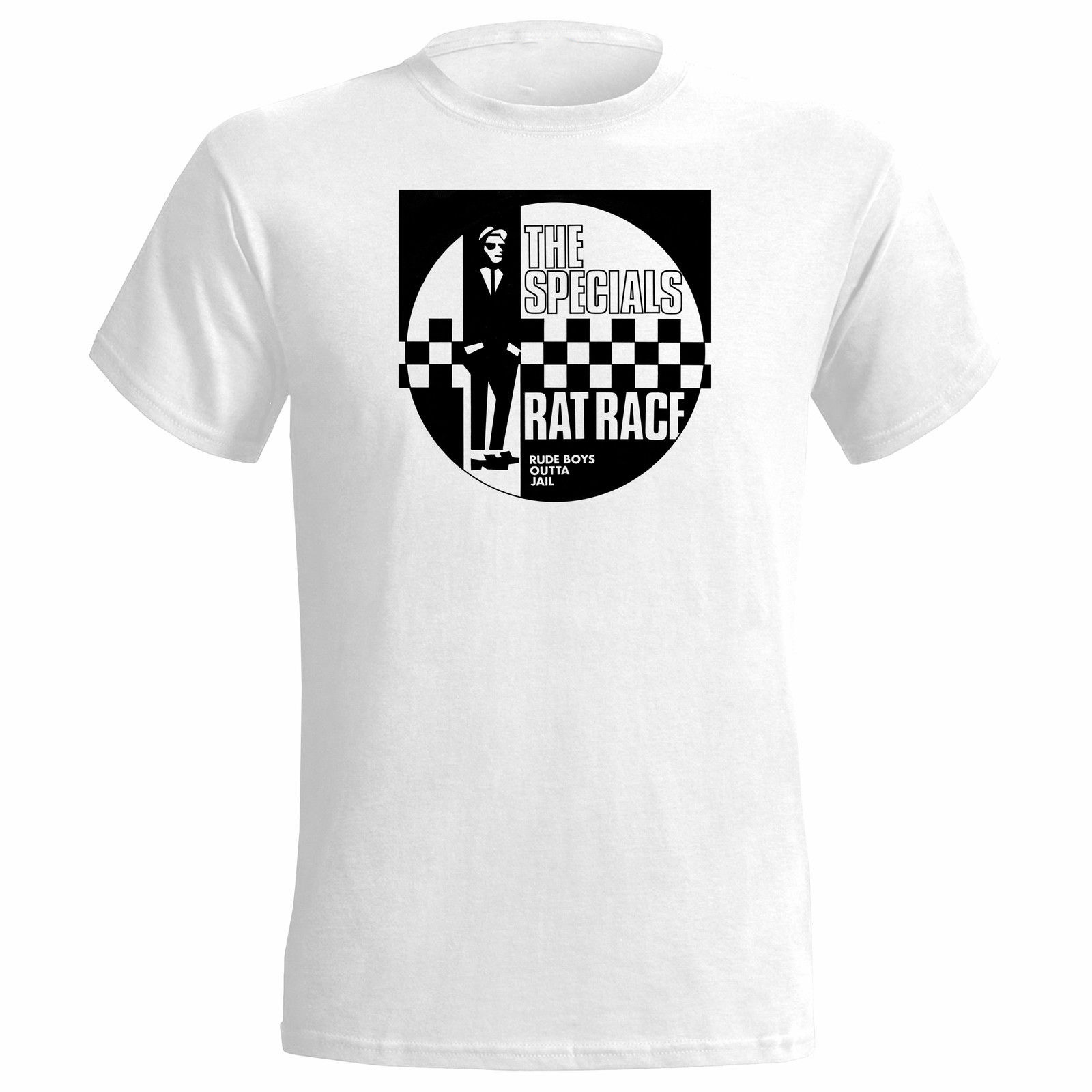 EXCLUSIVE TO SKA SHACK Collectors Edition white Limited THE SPECIALS T Shirt