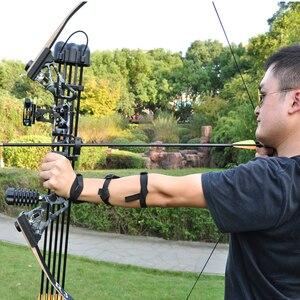 Image 5 - Открытый арбалет Рекурсивный охотничий лук R3 лук для стрельбы Arco e flecha оборудование для стрельбы из лука костюм высокого качества