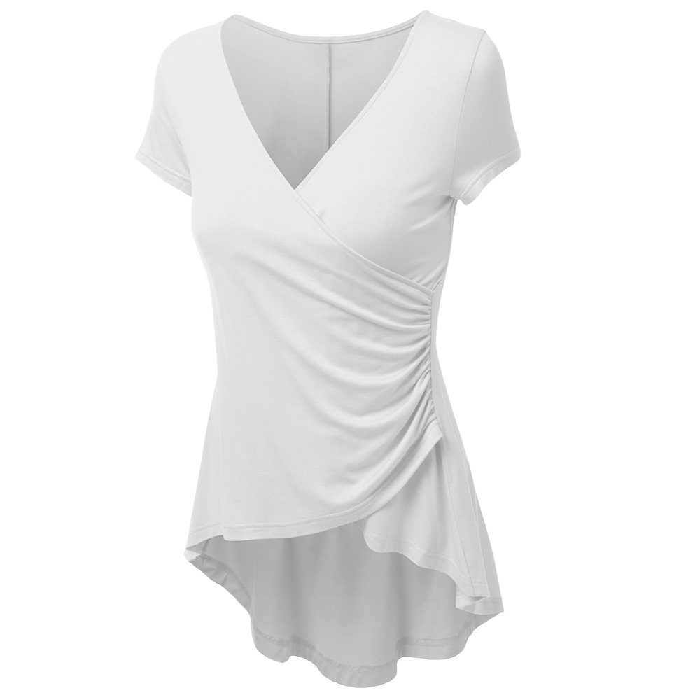 White Tunic Shirts for Women Promotion-Shop for Promotional White ...
