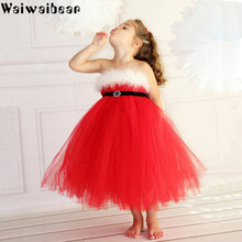 Hot Sale Baby Kids Girls Dress Christmas Dresses Costume Toddler Tutu Princess Outfits Clothes