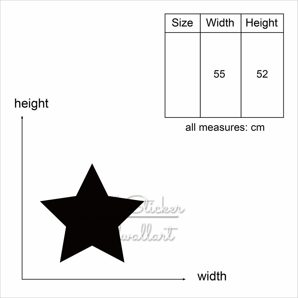 Golden Star Wall Sticker Modern Gold Star Wall Decal DIY Easy Wall Art Stars Decal Removable Wall Decor Cut Vinyl M69 in Wall Stickers from Home Garden
