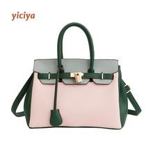 Pink Contrast Color Large Crossbody Luxury Handbags Bags for Women Designer Shoulder Summer Messenger Bag