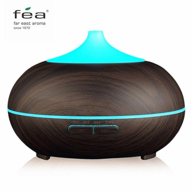 ВЭД Essential 300 мл масла диффузор увлажнитель воздуха аромалампу Ароматерапия Электрический ультразвуковой аромат диффузор тумана