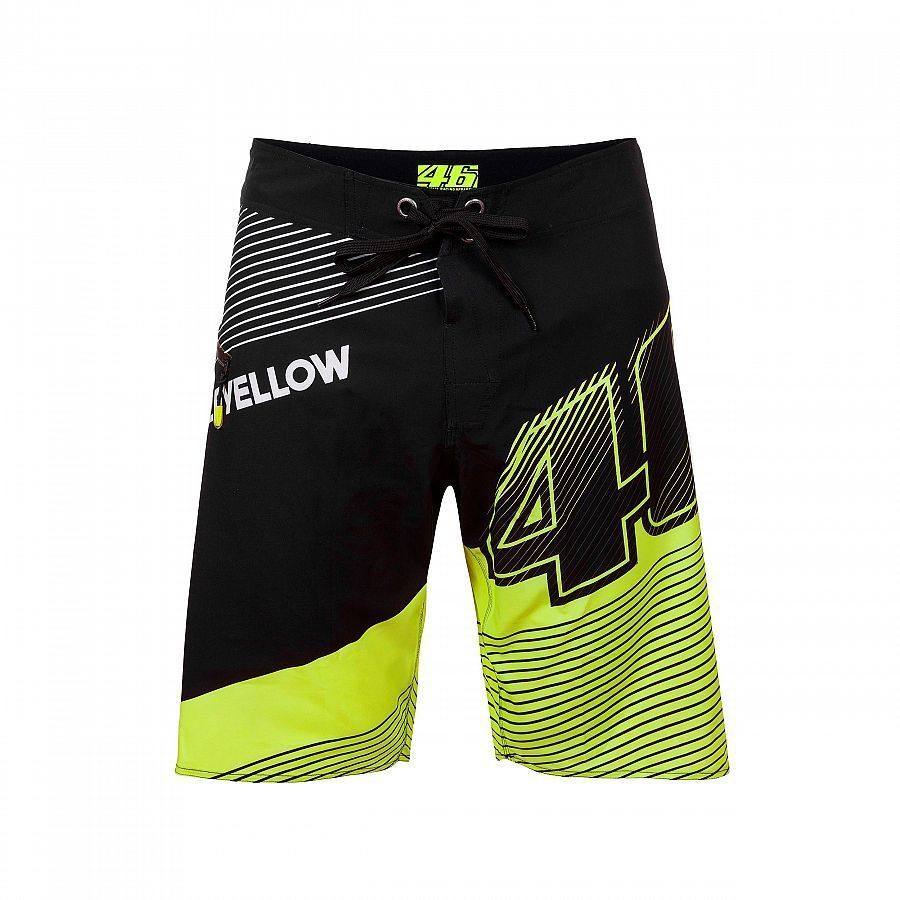 MotoGP VALEYELLOW 46 Casual Wool Cotton Short Pants VR46 Rossi Fans Beach Shorts motorcycle Street Riding Shorts