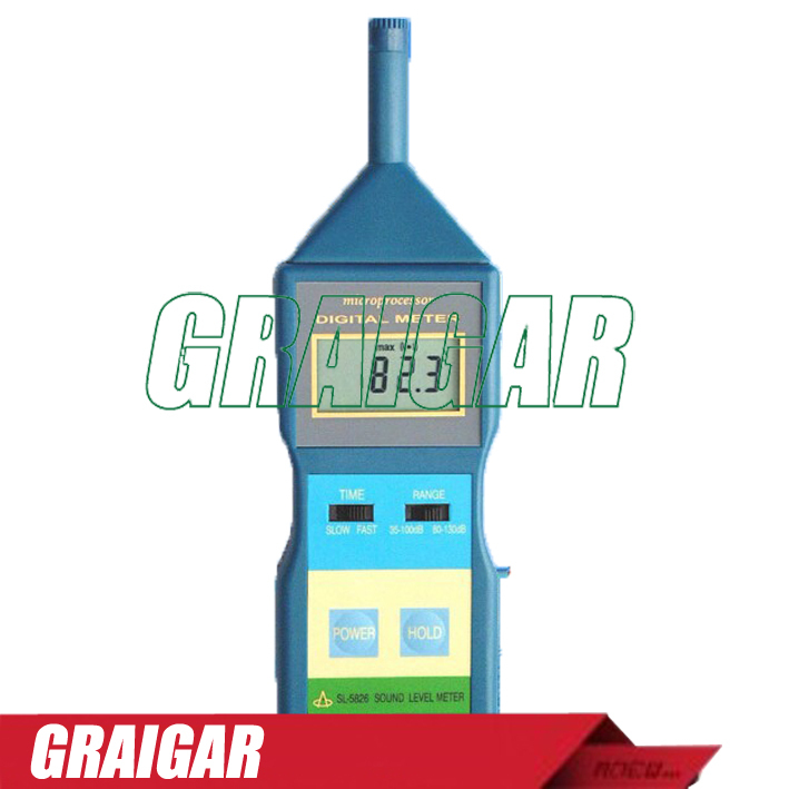 SL5826 Digital LCD Sound Noise Level Meter Decibel Monitor Tester SL-5826  цены