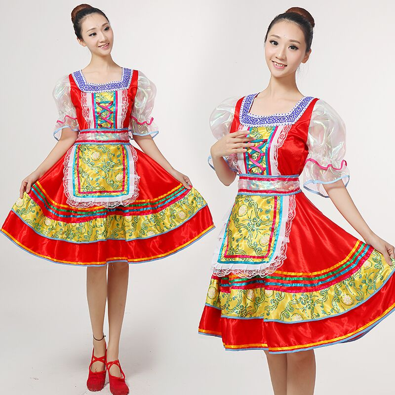 Classical Traditional Russian Dance Costume Dress European