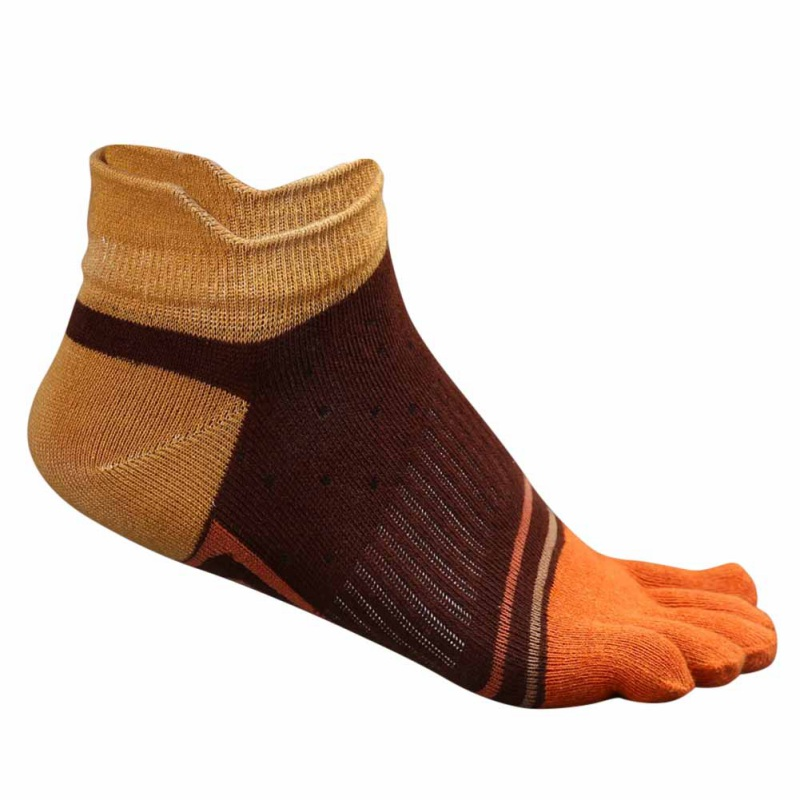 2018 New Mens Sport Five Finger Socks Male Cotton Soft Sock Male  Toe Breathable Ankle Running Cycling Clmping  Sock Nznx
