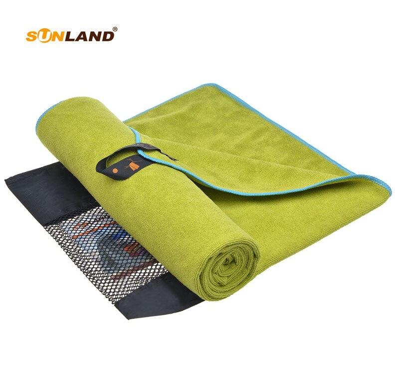 20 PC/LOT 60 cm x 120 cm microfibre Ultra absorbant séchage cheveux petite serviette voyage Camping Gym entraînement serviette de bain serviette avec sac