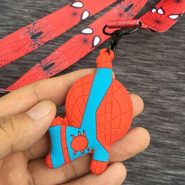 Шнурок с карабином и брелком Человек паук 1