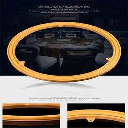 14IN/35 سنتيمتر ABS الهندسة البلاستيك التلفزيون قطب حامل طاولة طعام الدوار قاعدة دوارة مع الصلب تحمل الكرة