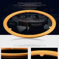 14IN 35CM ABS Engineering Plastic TV Swivel Stand Dining Table Turntable Rotary Base With Steel Bearing