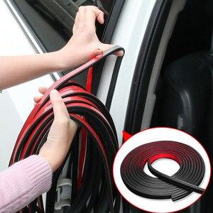 Image 1 - B Type Car Door Seal Sound Insulation Strip for Toyota Corolla iM E170 E140 E150 3 Mark 2 Mark X Matrix 1 2 Platz Premio