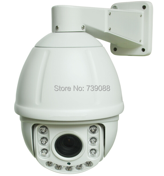 New arrival 4 in1 1 AHD / CVI / TVI 1080p full hd ptz high speed dome camera IR 100m long range security 18x zoom ahd ptz camera top high speed full teeth piston