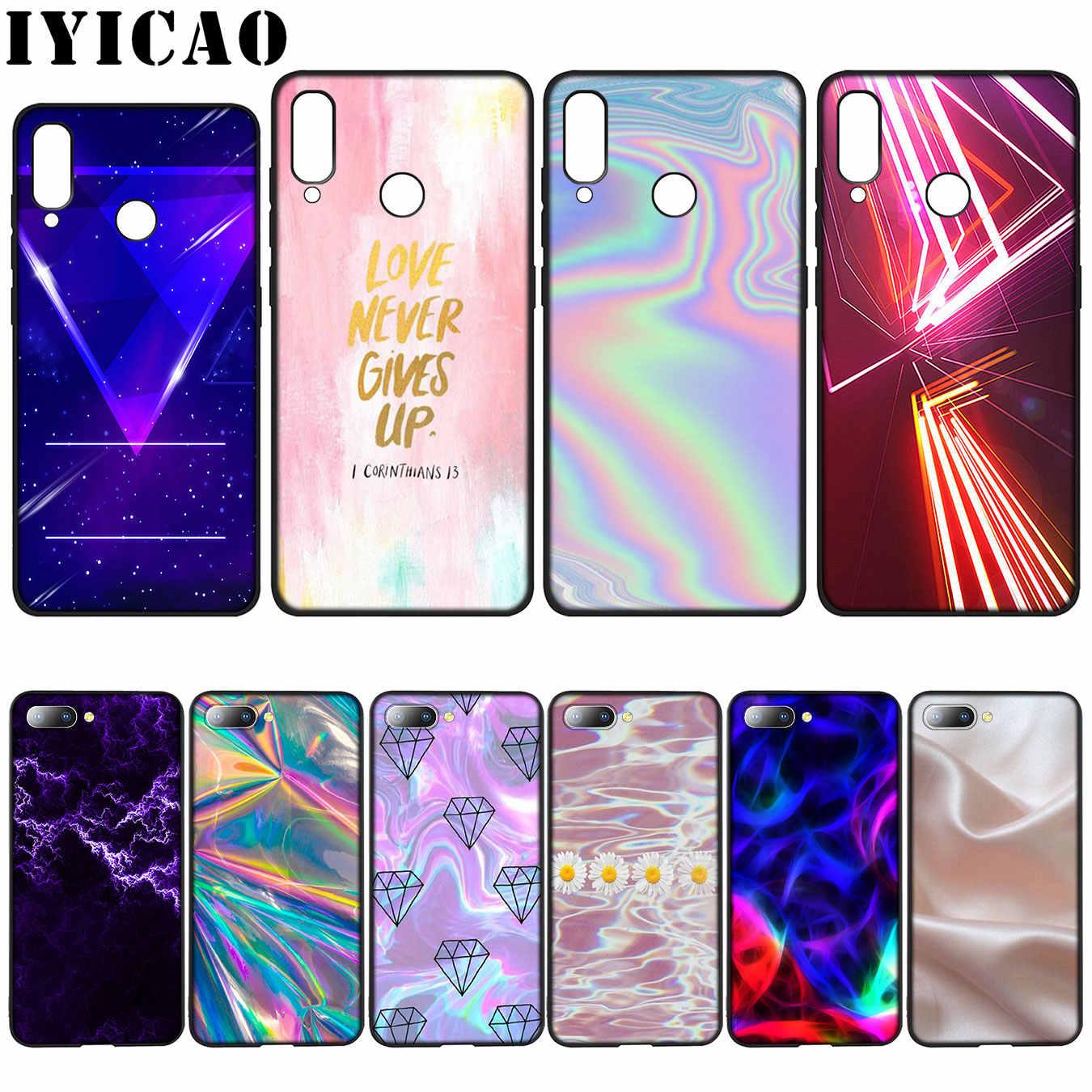 IYICAO Pastel metálico Tumblr bonito celular amor funda para Huawei Y7 Y6  Prime Y9 2018 Honor 8C 8X8 9 10 Lite 6A 7C 7X 7A Pro| | - AliExpress