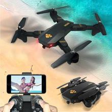 hot Brand New VISUO XS809HW Wifi FPV 2MP Camera 2 4G Selfie RC Quadcopter Toys drop