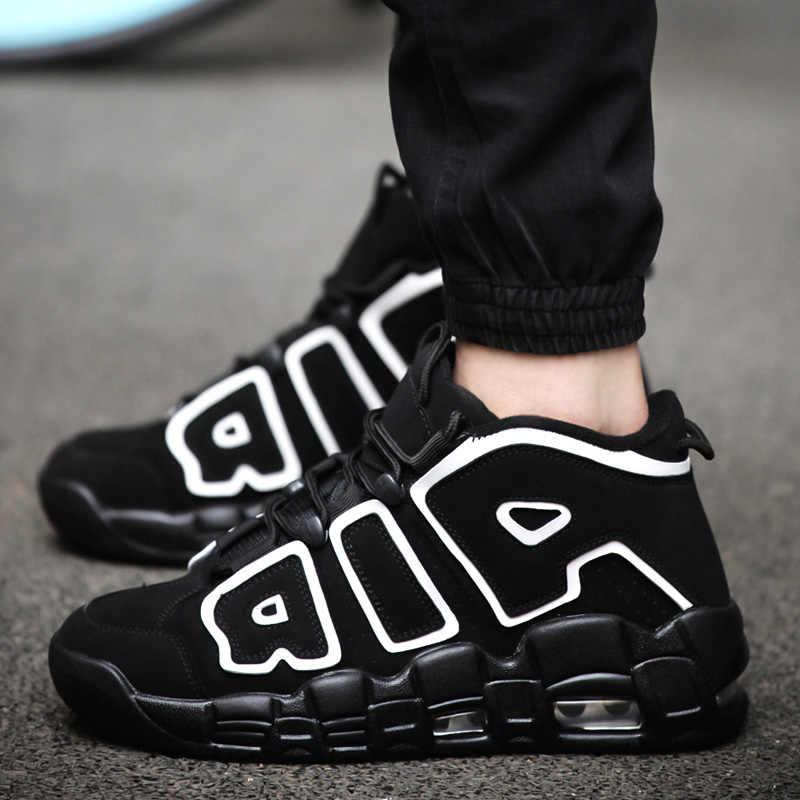 Men Basketball Shoes Jordan shoes chaussure homme masculino adulto seba  esportivo Air more Uptempo zapatillas hombre af229a16bf16