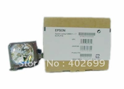 Projector lamp ELPLP16 without housing for Epson EMP-51/EMP-71 projector lamp elplp16 without housing for epson emp 51 emp 71
