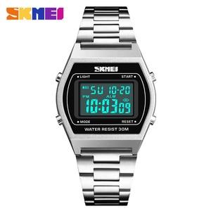 Image 5 - 2019 New Fashion Relogio Feminino Ladies Watches Outdoor Sport Luxury Alloy Digital Watch Strap Business Wristwatch Woman Clock