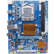X58 desktop motherboard LGA 1366 DDR3 boards quad-core needle CPU 8 threads motherboard