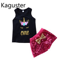 2019 Summer party sleeveless  spark fox baby girl clothes toddler girls LOL for
